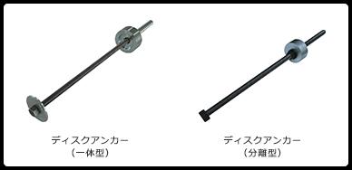 ディスクアンカー(一体型・分離型)